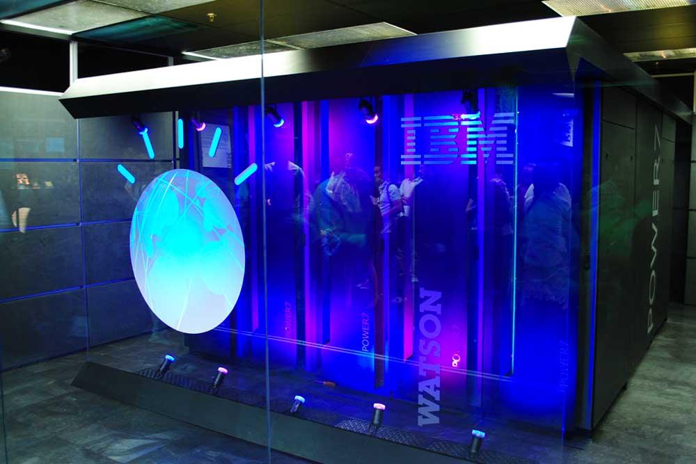Supercomputer IBM Watson